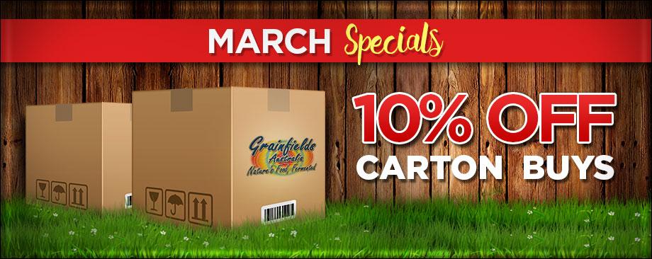 10% OFF Carton Buys