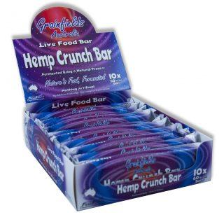 Hemp Crunch Bar Product Shot